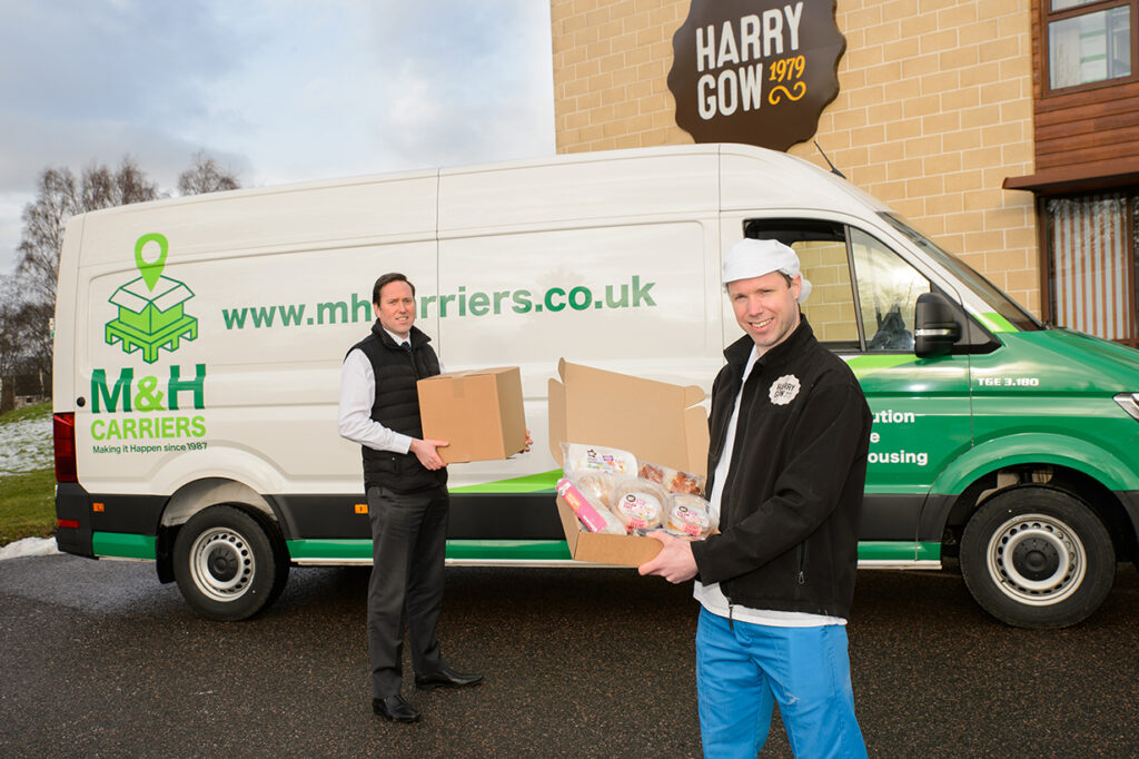 Harrys at Home Service - Distribution